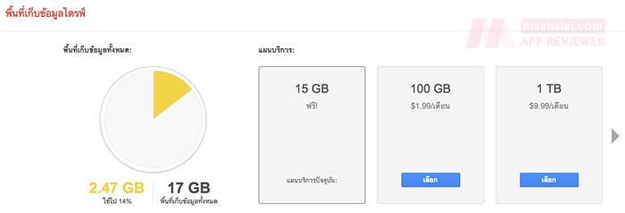 Google Drive free add space
