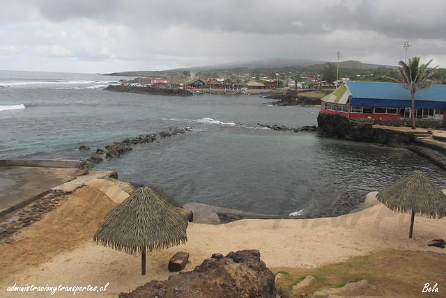 Playa Pea - Isla de Pascua