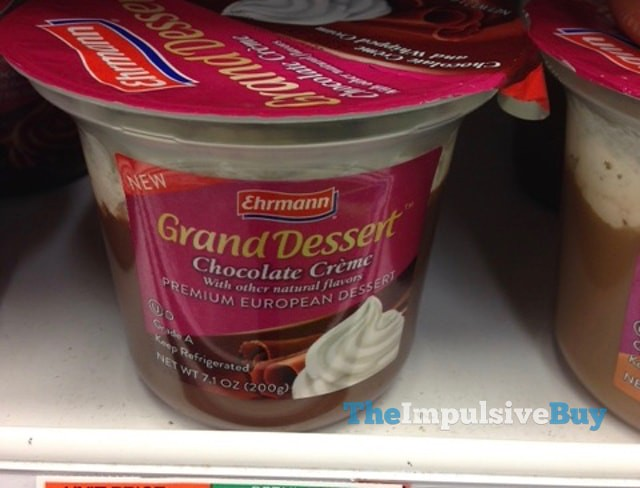 Ehrmann Grand Dessert Chocolate Creme