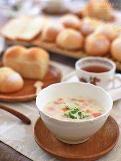 プチパン ミニ食パン ミルクスープ 20160330-IMG_9202