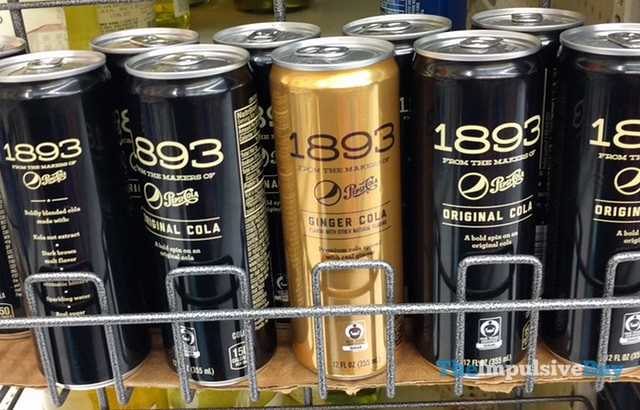 Pepsi 1893 Original Cola and Ginger Cola
