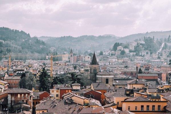 Bologna vista dalla Terrazza di San Petronio
