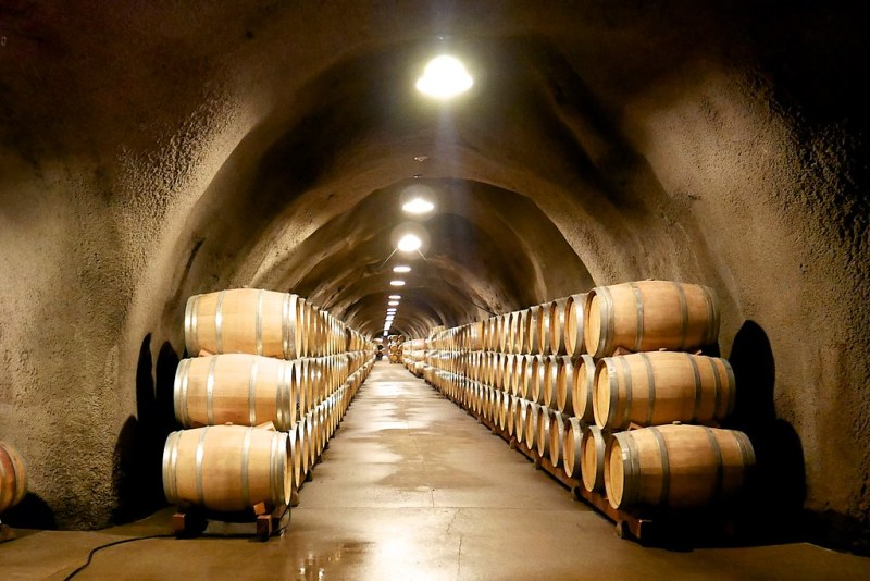 The caves at Inglenook