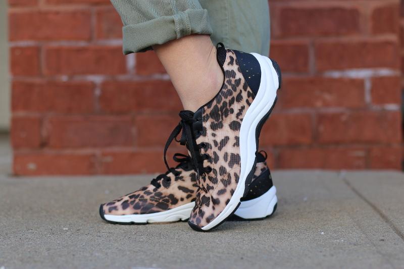 Vionic Shoes, leopard sneakers