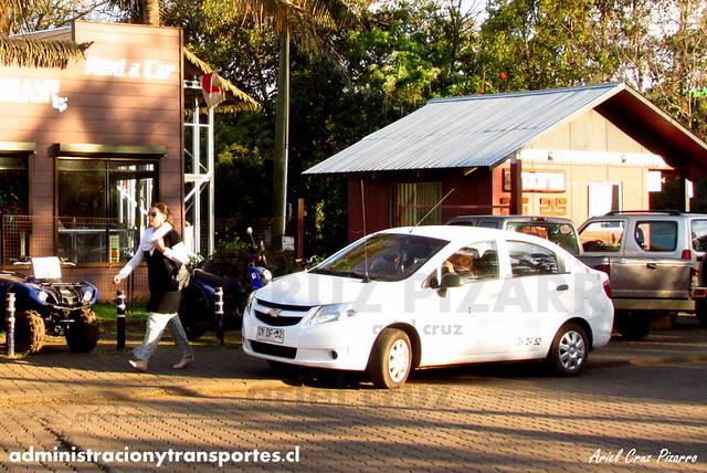 Taxi Isla de Pascua - Chevrolet Sail (GYDF52)