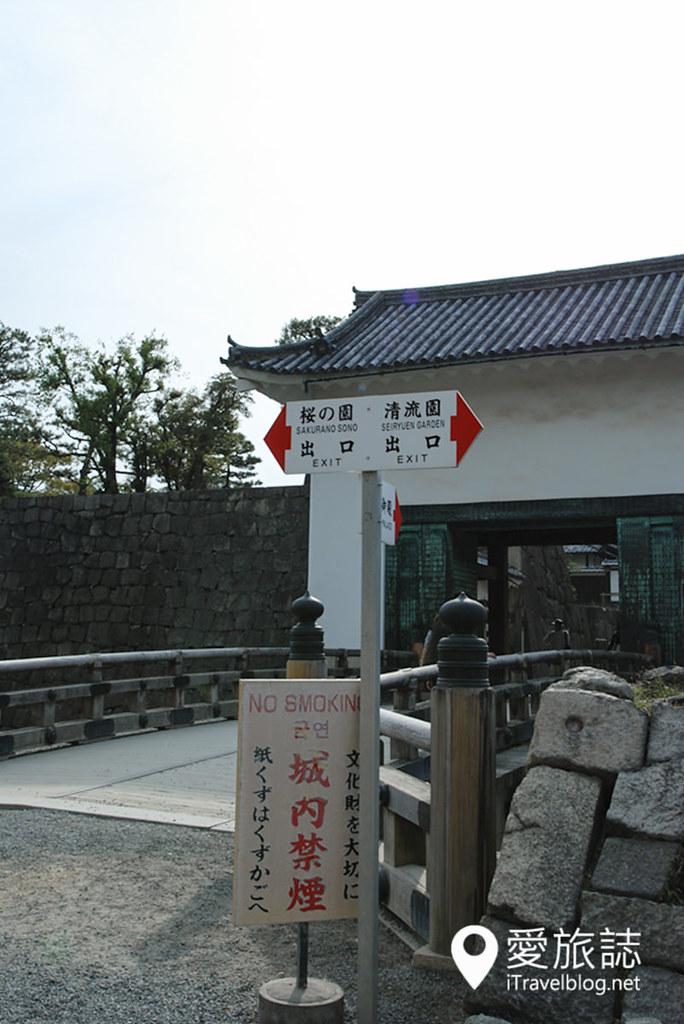 京都赏樱景点 元离宫二条城 13