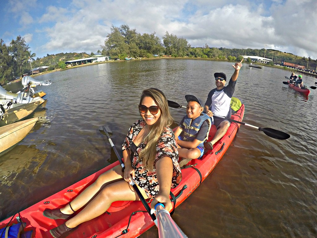 Looking for a perfect all in one tour during your vacation on Kaua'i? Look no further! Ziplining, Kayaking, Hiking, and Swimming Holes all in one tour! - Hawaii Travel Tips, Kauai Travel Tips, Things to do Kauai | Wanderlustyle.com