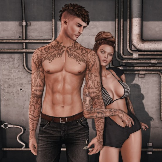 Signature Gianni Male Mesh Body