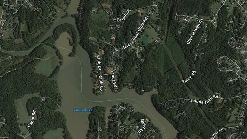 Saluda Lake Siltation 2016