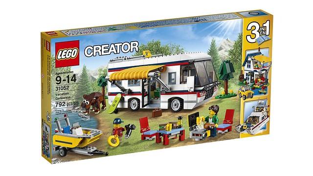 Nouveautés LEGO Creator Vacation Getaways (31052) box
