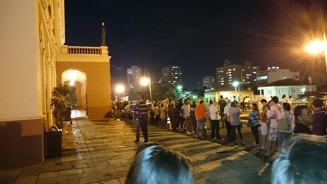 queue amazonas theater night