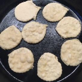 Sourdough tortilla bites