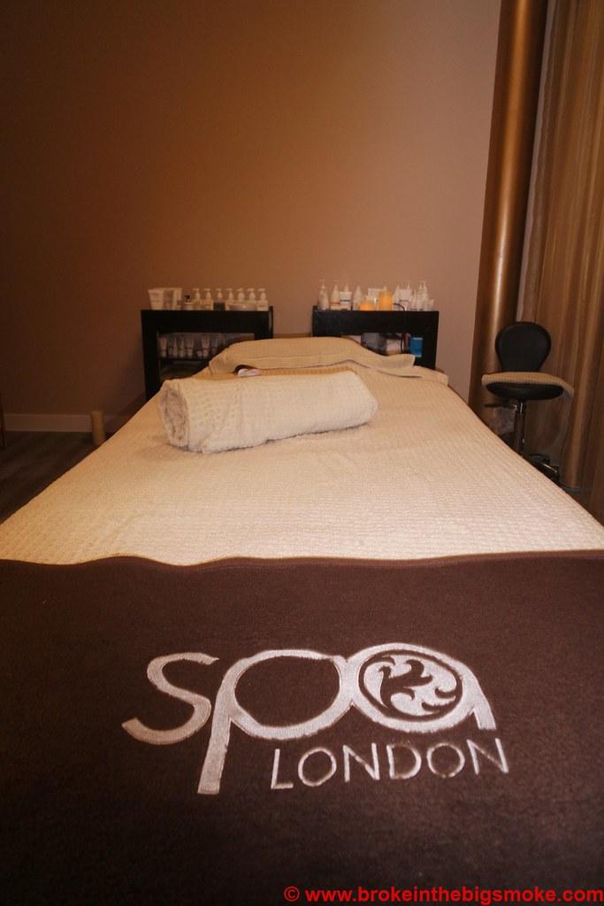 Spa London Kensington Treatment Room