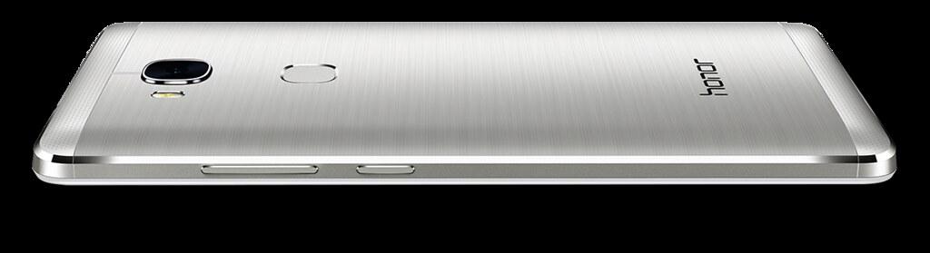 De Honor 5X heeft een mooi metal design.
