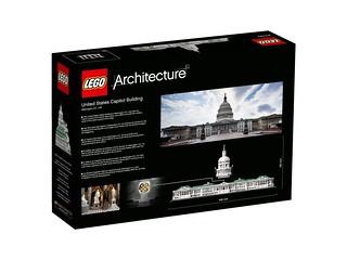 LEGO Architecture 21030 United States Capitol Building back