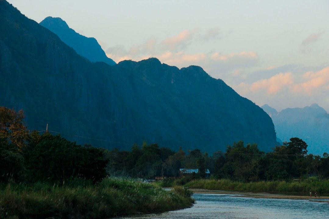 Vang Vieng i Laos, skøn natur