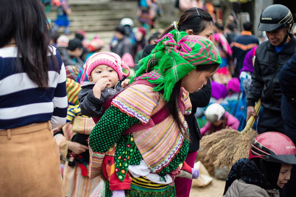 Bac Ha Sunday Market 22