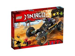 LEGO Ninjago 70589 Rock Roader box