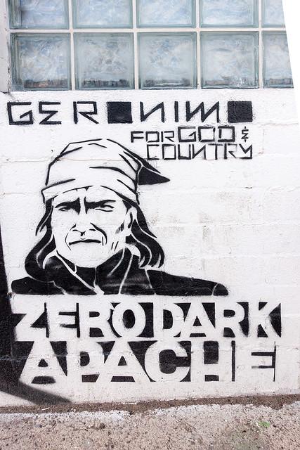 Zero Dark Apache - Stencil.