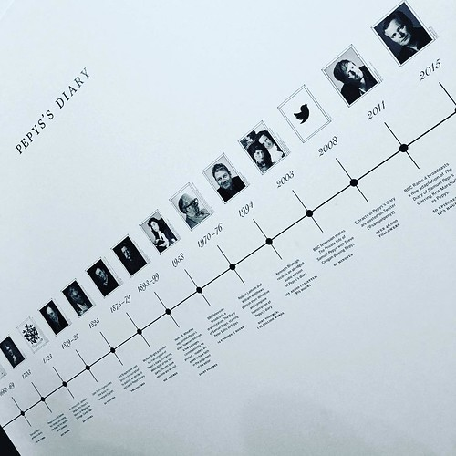 Timeline of the Diary - but no pepysdiary.com ? Shame! The twitter iteration @samuelpepys is there though #pepysshow