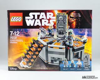REVIEW LEGO Star Wars 75137 Carbon-Freezing Chamber 01 (HelloBricks)