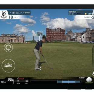 World Golf Tour HUD (Android)
