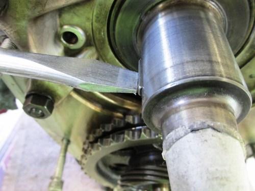 Aligning Woodruff Key in Crankshaft