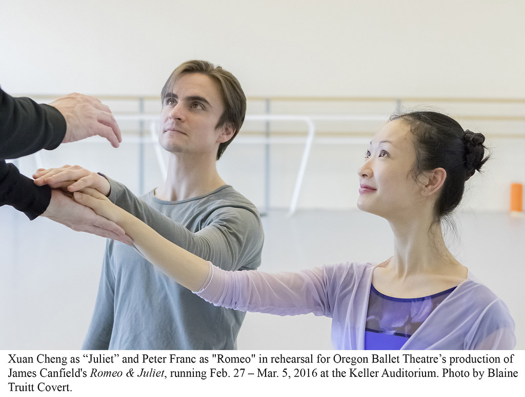 ROMEO & JULIET REHEARSALS WITH JAMES CANFIELD - Winter 2016