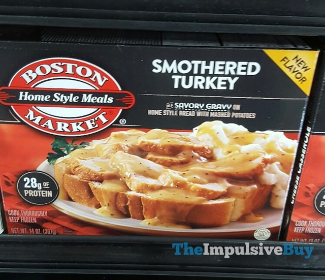 Boston Market Smothered Turkey