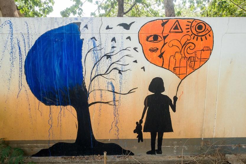 Chiang Mai Street Art 36