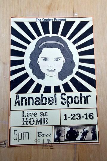 Annabel Spohr, Live at Home