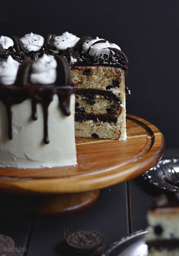 The Ultimate Cookies & Cream Layer Cake! bethcakes.com