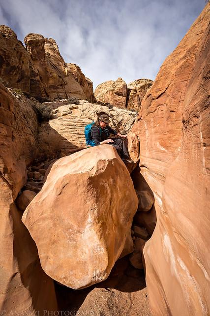 Around the Boulder