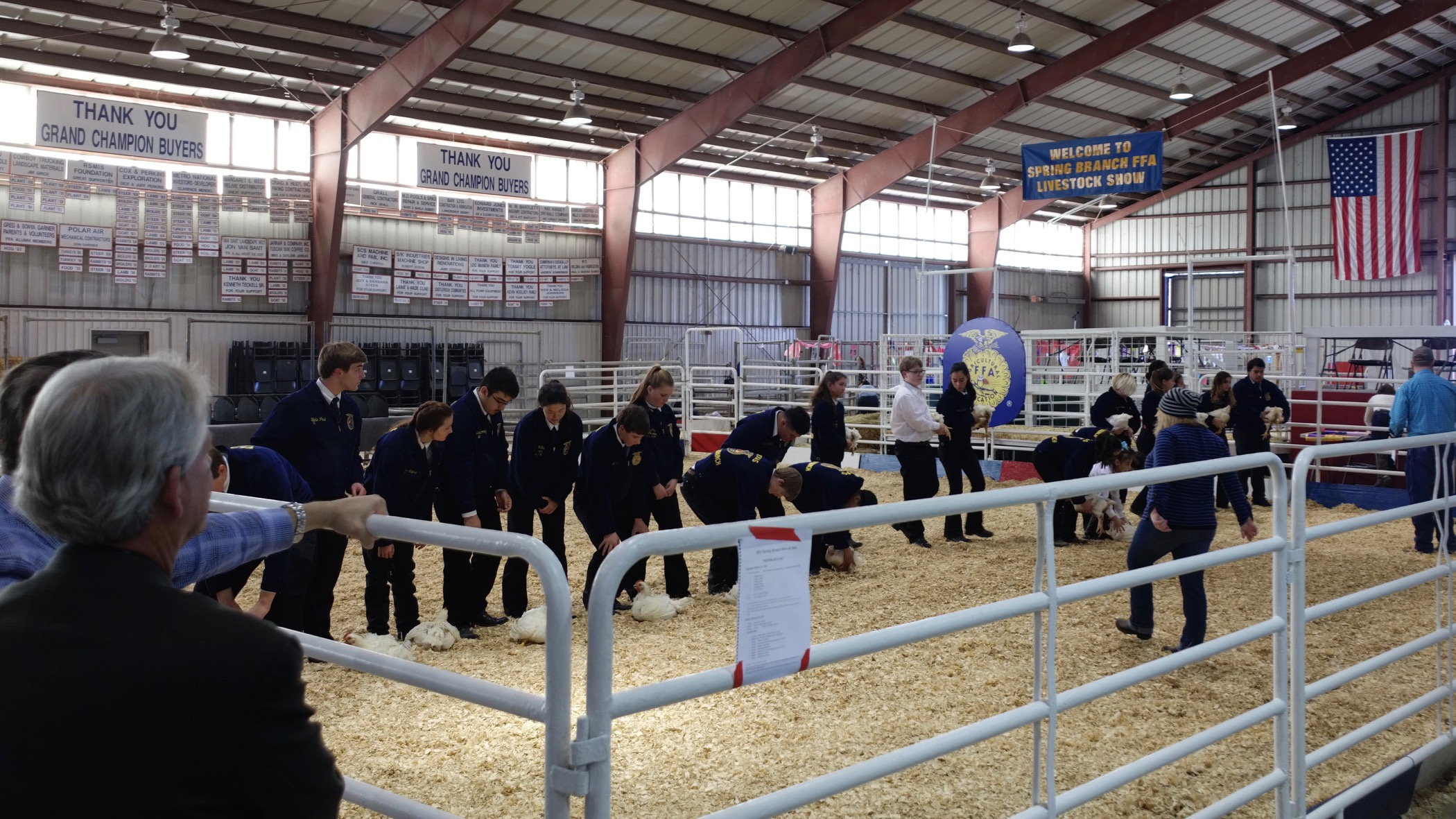 2016 Spring Branch FFA Show and Sale