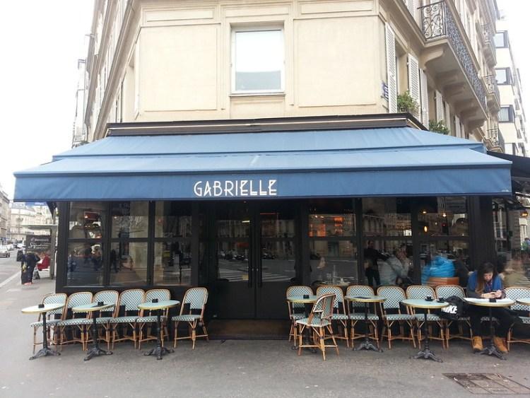 Gabrielle Cafe Paris facade
