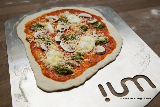 Home made Uuni pizza