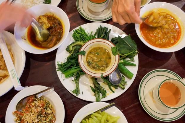 First Burmese meal. Feel Myanmar Food, Yangon