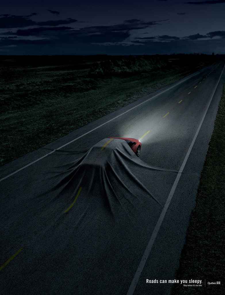 SAAQ - Roads can make you sleepy 1