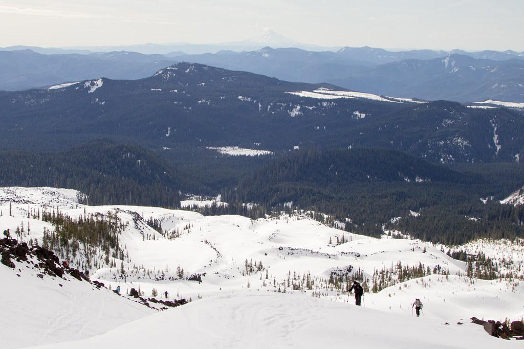 Mt. St. Helens Skiing