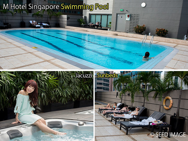 M Hotel Singapore Jacuzzi