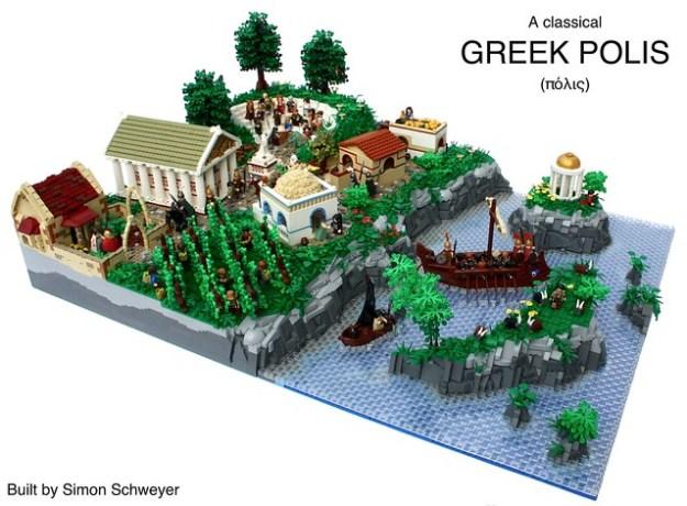 A Classical Greek Polis