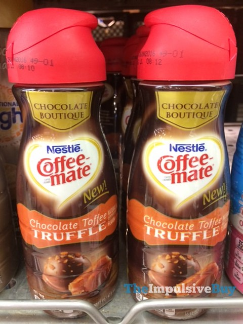 Nestle Coffee-mate Chocolate Boutique Chocolate Toffee Truffle