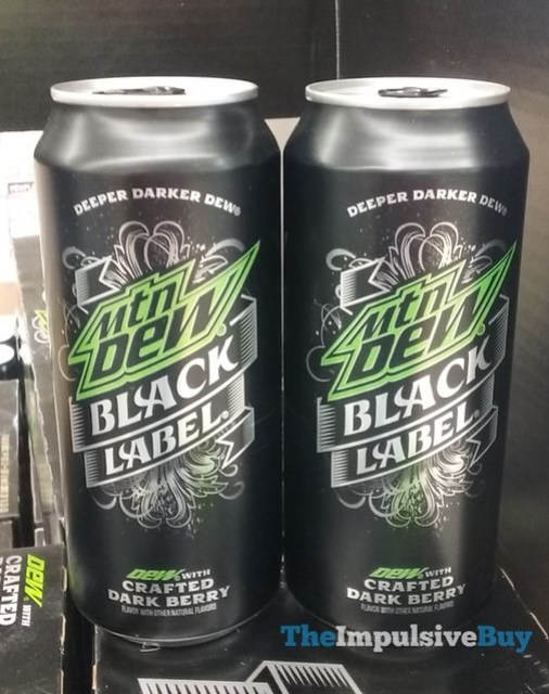 Mountain Dew Black Label