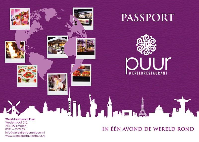 Wereldrestaurant Puur Passport 2016
