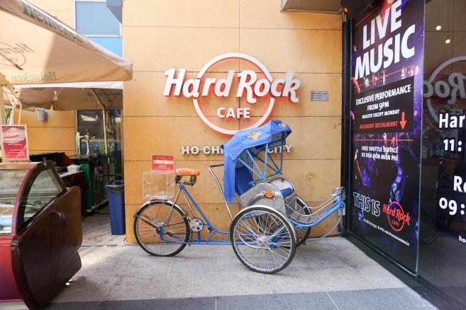 Hard Rock Cafe, Saigon. Ho Chi Minh City, Vietnam, April 2016