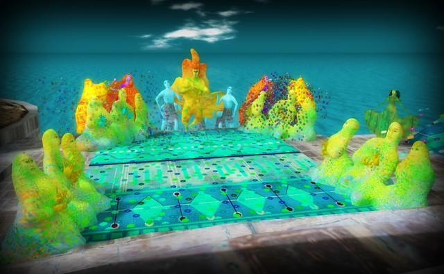 Sapphire Mirror Lake - Arts and Entertainment Sim