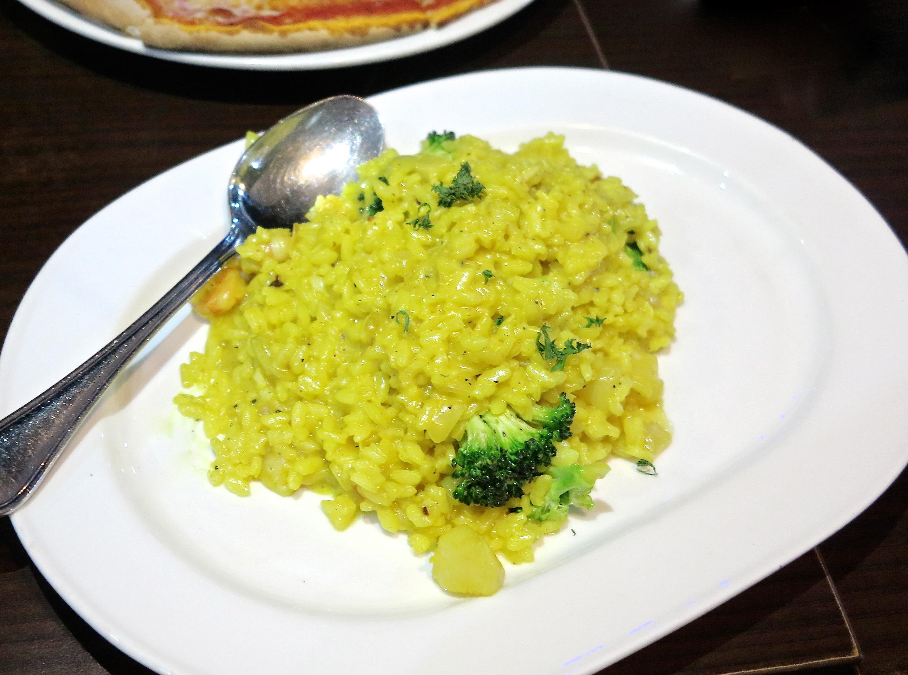 Il Risotto Allo Zafferano E Broccoli