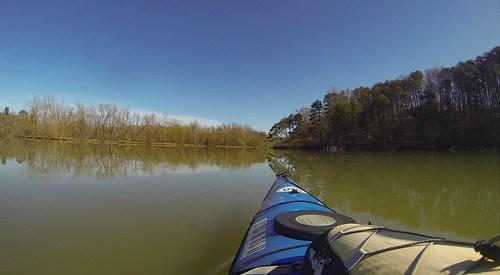 Saluda Lake Paddling-38