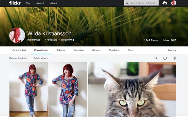 Flickr reaktionista