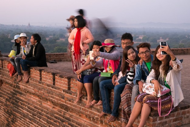 I'd rather take a selfie. Bagan